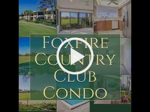 Foxfire Country Club Condo