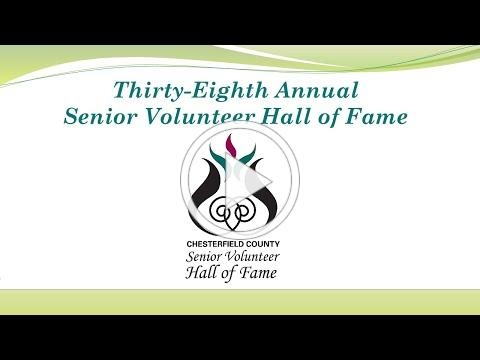 Thirty-Eighth Annual Senior Volunteer Hall of Fame