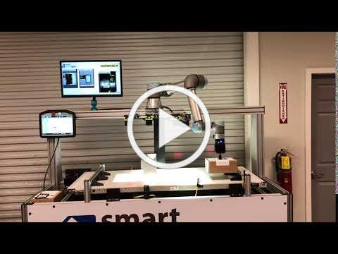 Conveyor Demo with Machine Vision and Collaborative Robot- Pick and Place with Box