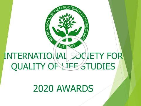 2020 ISQOLS Virtual Awards Ceremony