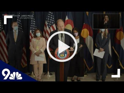 Polis makes health care announcement