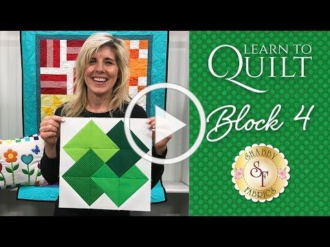 Learn to Quilt Part 5 | a Shabby Fabrics Quilting Tutorial