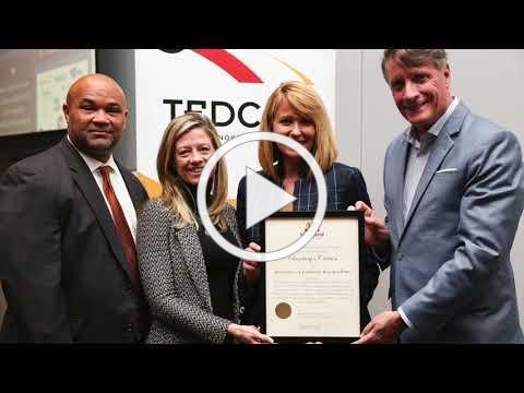 TEDCO's Entrepreneur Expo, MEDA 2020 Economic Development Marketing Award Winner