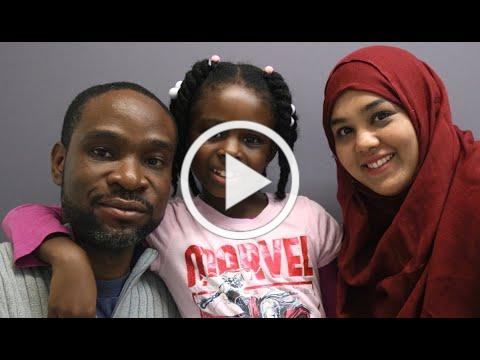 Celebrating a Librarian's Impact on a Young Learner | Richelet Jean and Hasina Islam