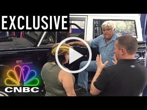 Jay Leno Restored Craig Ferguson's Gifted 1968 Ford Bronco | CNBC Prime