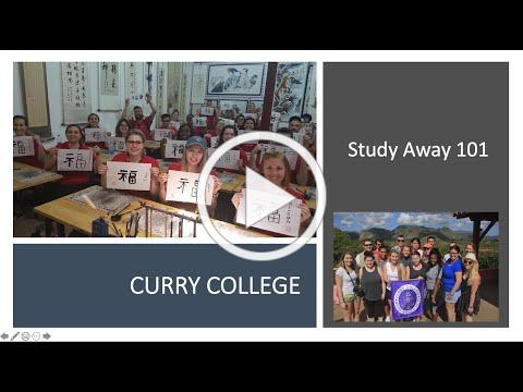Curry College Study Away 101