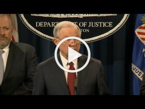 Justice Department Delivers New Opioid Policy Announcement