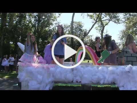 2018 Frederica Academy Homecoming Parade