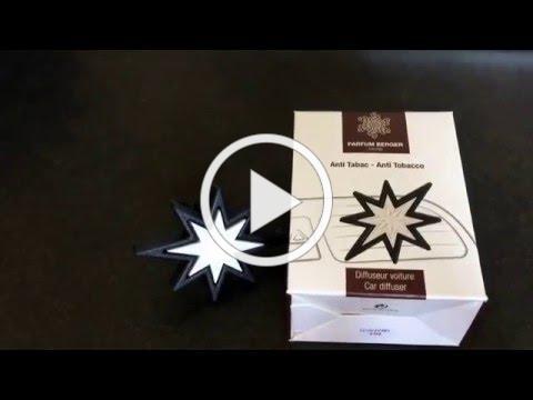 Parfum Berger Anti Tobacco Car Diffuser