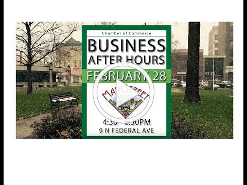 Business After Hours hosted by Main Street Mason City