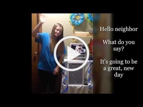 VBS Song Hello Neighbor