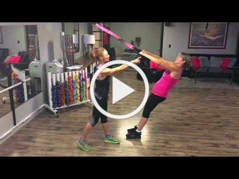 Training with Rosie Cowen: TRX High Row