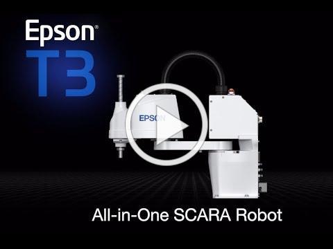 Explore the features of the Epson T3 All-in-One SCARA Robot