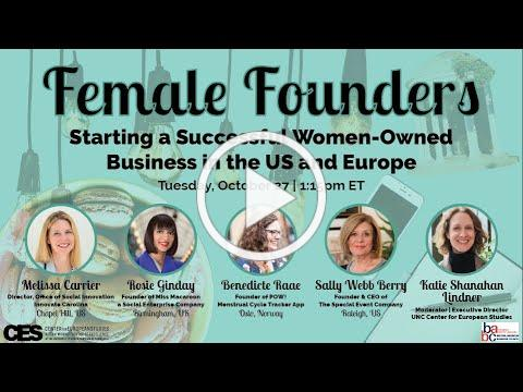 Female Founders: Starting a Successful Women-Owned Business in the US and Europe