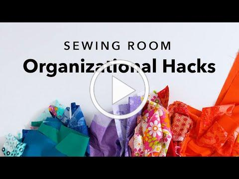 5 Clever Sewing Room Organization Ideas