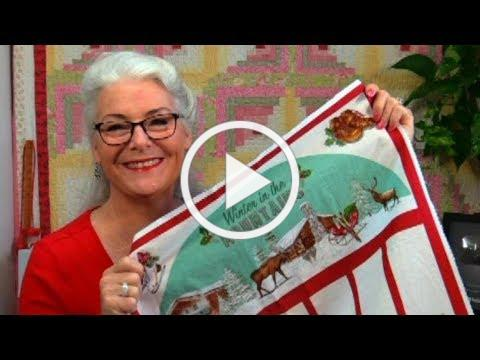 How to Square up a Quilt Panel