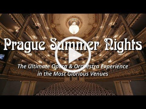 Prague Summer Nights in the Most Glorious Venues