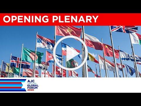AJC Virtual Global Forum 2020 Opening Plenary