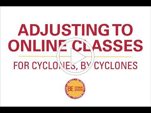 Adjusting to Online Classes