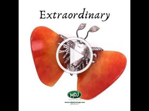 Extraordinary - MDJ Advantage LLC - Dominic Mainella - JADE DIAMOND BROOCH