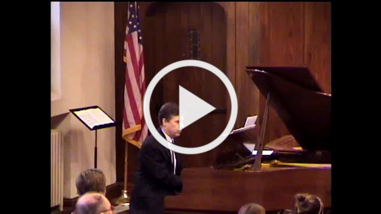 """FCCGE - """"Celebrate 150"""" Composed and performed by Paul Doerrfeld, piano; Ellen Coman, organ"""