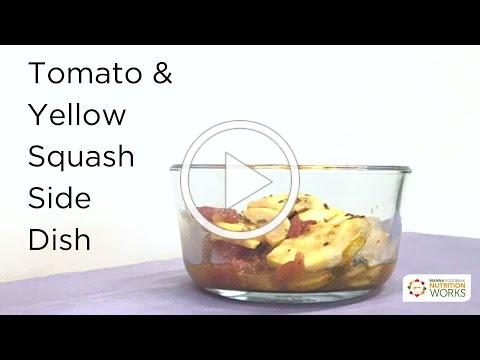 Tomato & Yellow Squash Side Dish
