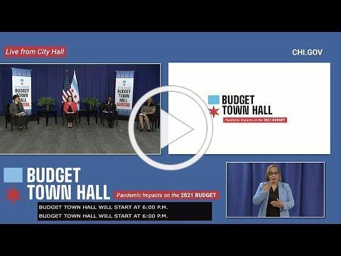 Budget Week Virtual Town Hall 9.1.2020