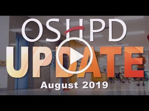 OSHPD Update August 2019