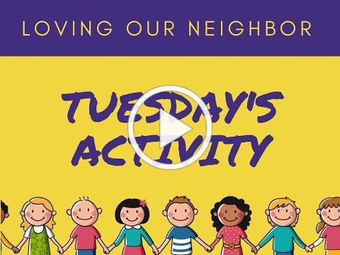 VBS 2020 Tuesday Activity/Grace