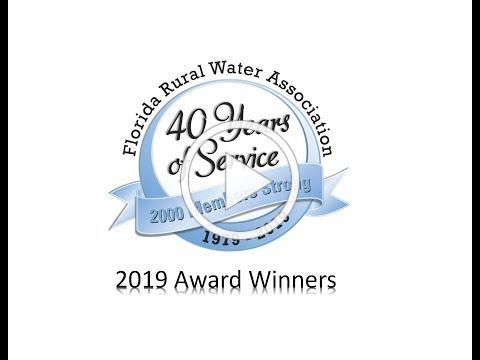 2019 FRWA Award Winners