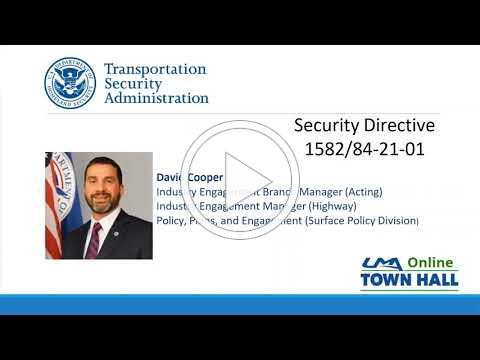To request clarification on any provisions of the Security Directive please email TSA-Surface@tsa.dhs.gov