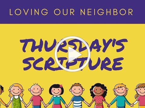 VBS 2020 Thursday Scripture/Friendship