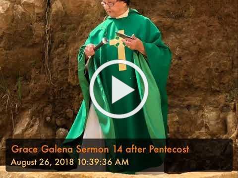 Grace Galena Sermon 14 after Pentecost