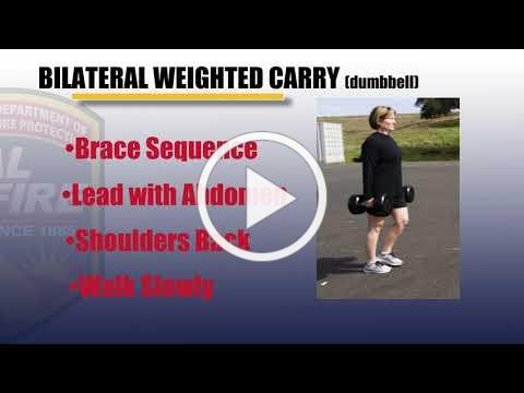 BILATERAL WEIGHTED CARRY Dumbbell