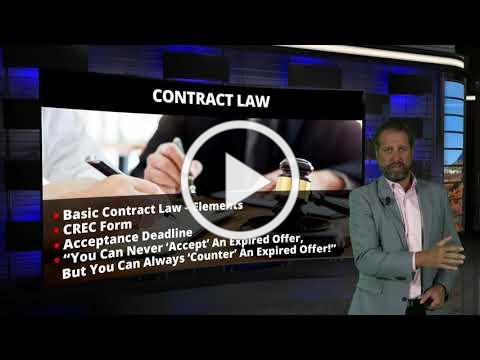 Legal Bites #44 - Contract Offer and Acceptance