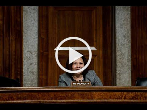 Senator Tammy Duckworth talks ADA and Elections