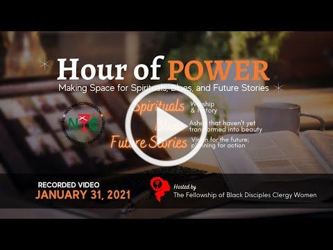 Hour of Power Fifth Sunday - January 31, 2021