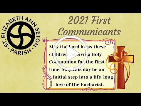 Congratulations First Communicants of 2021!