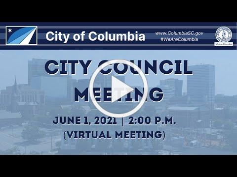 City Council Meeting | June 1, 2021