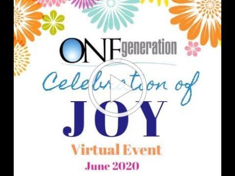 ONEgeneration Celebration of JOY 2020 Sponsors and Staff