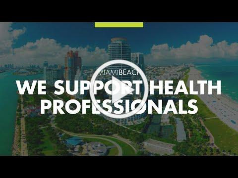 Miami Beach Fire Department Supports Local Health Professionals