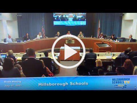 Hillsborough County School Board Recognizes HEF & CEO Kim Jowell