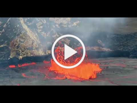 Lava Lake from Halemaumau Crater