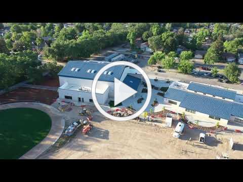 Jefferson Elementary School Conversion - Drone Flight 05.13.21