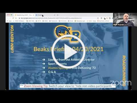 Beaks Briefing April 20, 2021