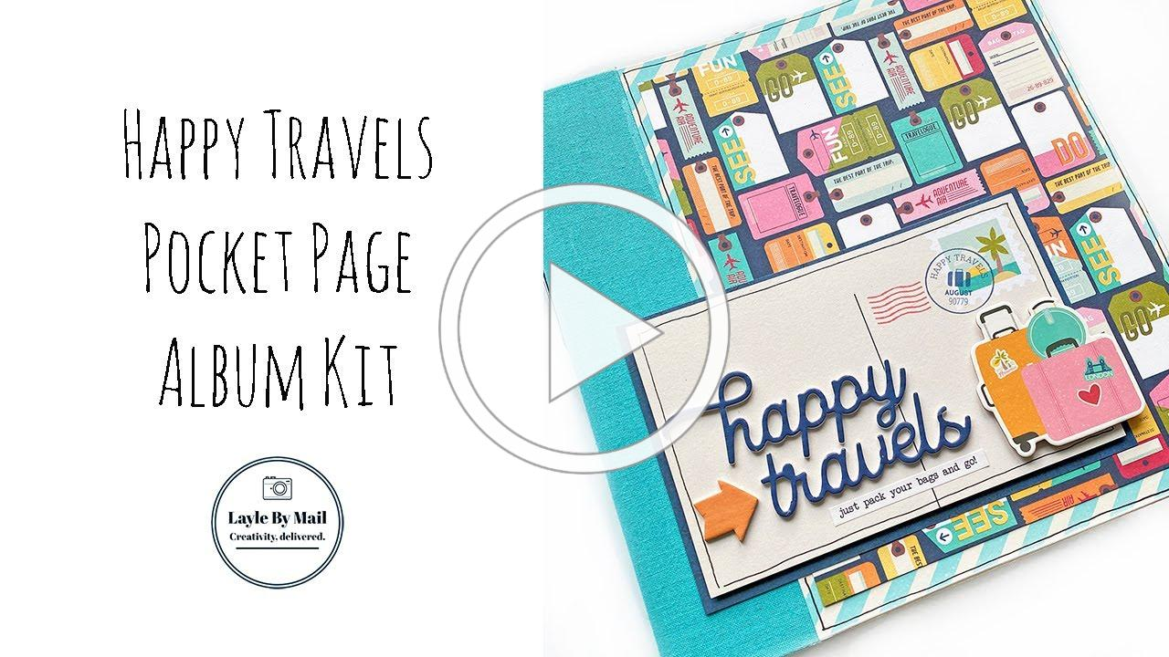 Happy Travels Album Kit - Layle By Mail