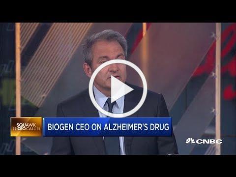Biogen CEO Michel Vounatsos on seeking FDA approval for new Alzheimer's drug