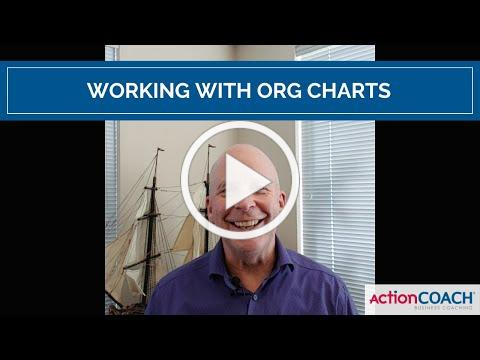 Working with organizational charts
