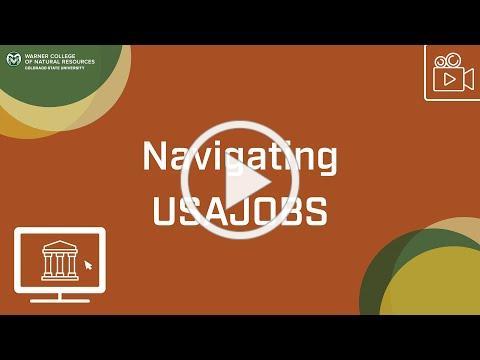 Navigating USAJOBS