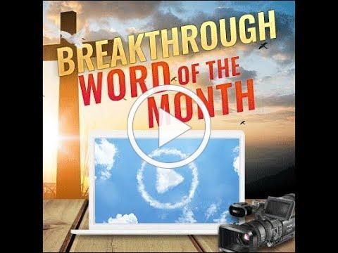 Breakthrough Prophetic Word for January 2019